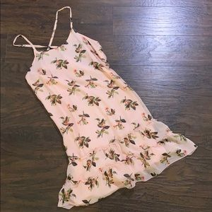 abercrombie pink dress